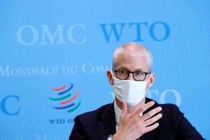 El secretario de Estado del Comercio Exterior, Franck Riester. REUTERS/Denis Balibouse/Pool