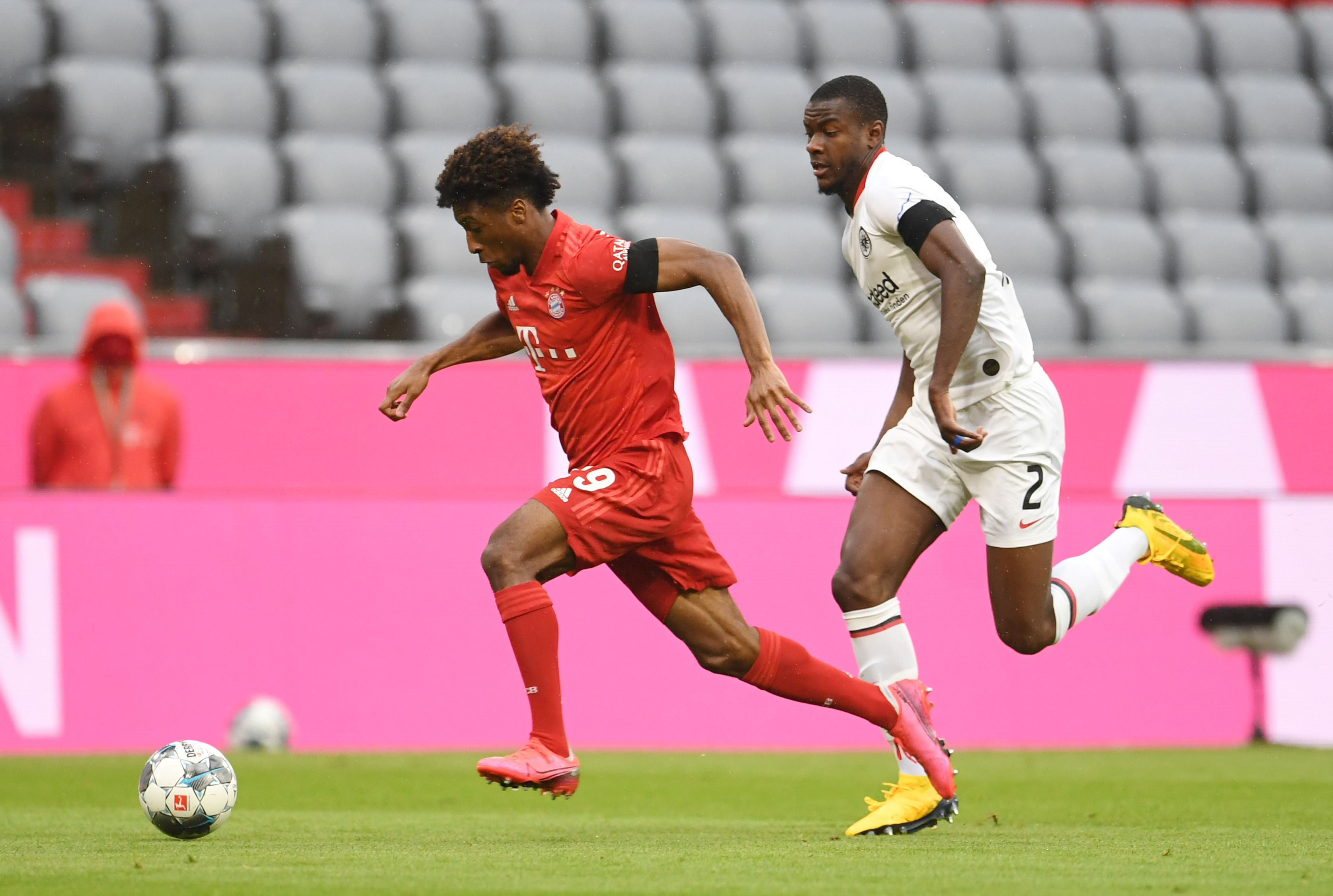 El FC Bayern München recibe al Eintracht Frankfurt con la obligación de ganar (Reuters)