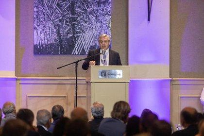 Alberto Fernández habló en el tradicional almuerzo de la Fundación Mediterránea