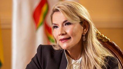 Jeanine Añez (Foto: Julio González)