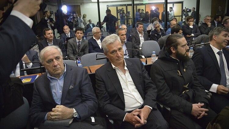 El abogado de Báez arrancó el juicio detenido (Gustavo Gavotti)