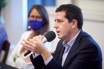 """El ministro del Interior, Eduardo """"Wado"""" De Pedro es uno de los encargados de negociar con la oposición el cronograma electoral"""