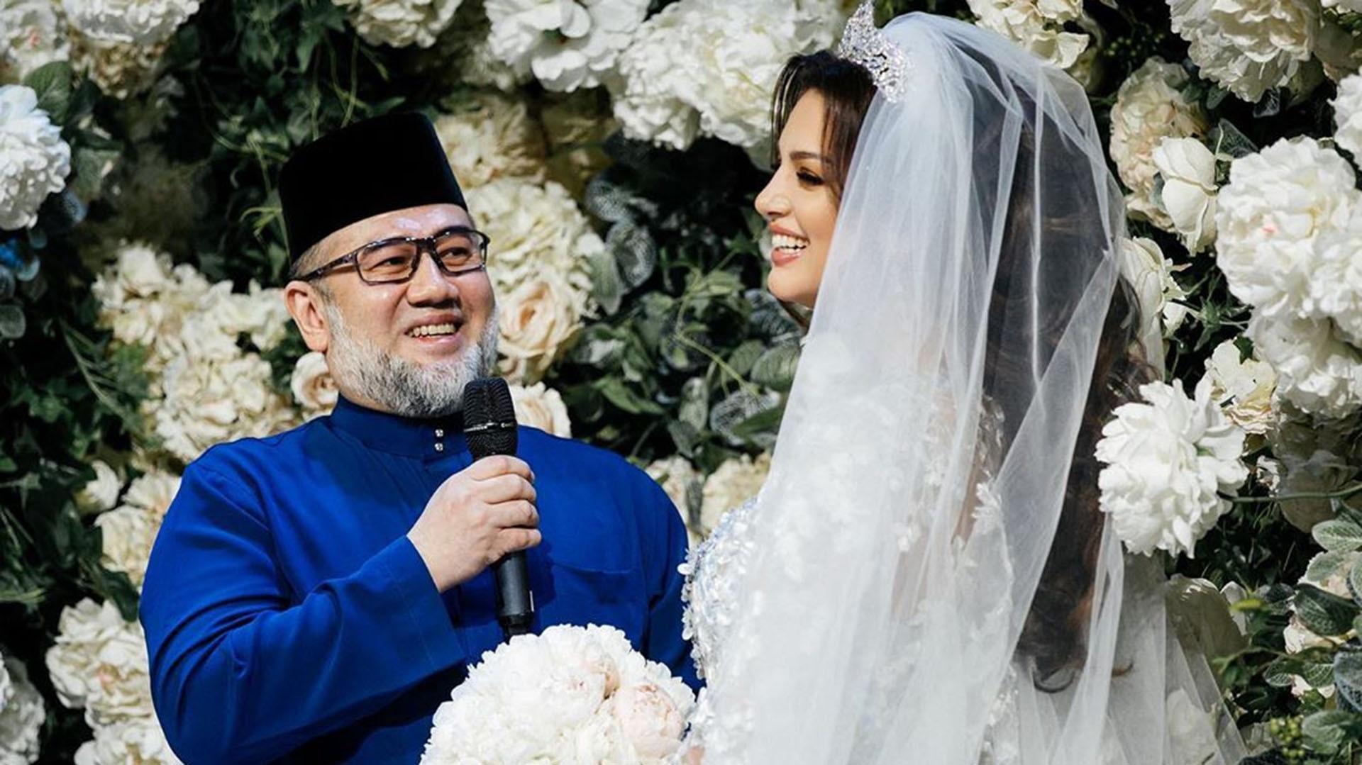 La breve historia de amor del rey de Malasia y Miss Moscú ...