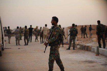 Reportan que el Ejército de Siria intercepta