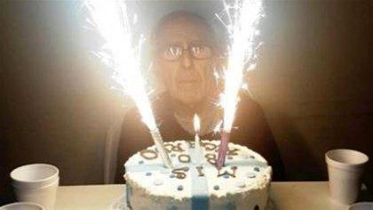 El cumpleaños 80 de Barreda en el hospital, en junio de 2016