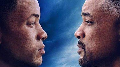 """Will Smith estrenará """"Gemini Man"""", de Ang Lee en octubre próximo, en la cinta su personaje peleará con réplica de sí mismo 20 años más joven Foto: (Paramount)"""