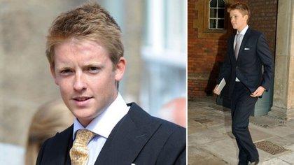 Tiene 25 años y heredó la fortuna de su padre, uno de los hombres más ricos de Reino Unido
