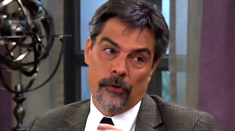 El médico Carlos Damín, a cargo de realizar el estudio.