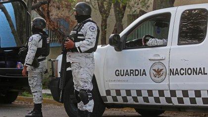 Elementos de la Guardia Nacional mantienen patrullajes en las carreteras de la entidad federativa, lo cual permitió el arresto (Foto: Cuartoscuro)