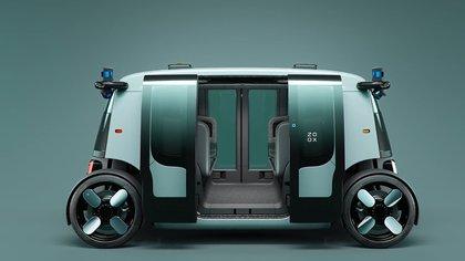 Vehículo autonomo Zoox de Amazon