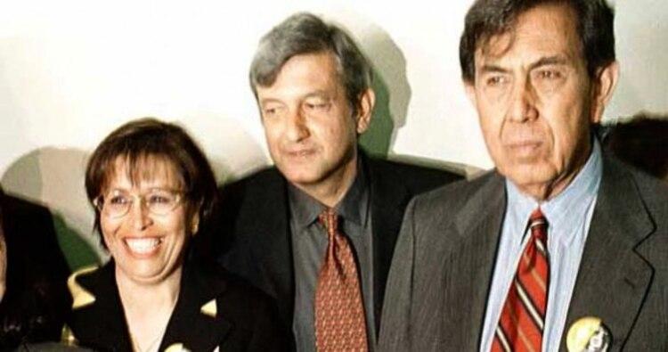 Rosario Robles, AMLO y Cuahtémoc Cárdenas (Foto: Especial)