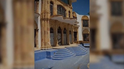 Sombría y abandonada: difundieron nuevas imágenes del interior de la mansión de Luis Miguel en Acapulco