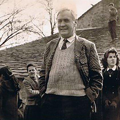 El Reverendo Edouard Theis (1957) (Foto: Wikipedia)