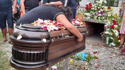 El sepelio de Beatriz García
