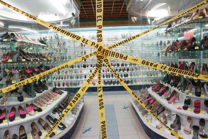 Dos de cada tres empresas en México corren el riesgo de dejar de operar por más de un año después de una epidemia debido a su situación económica actual.  (Foto: Brian R. Smith / AFP)