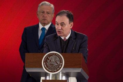 Alfonso Durazo presentará su renuncia como secretario el próximo viernes (Foto: Galo Cañas/Cuartoscuro)