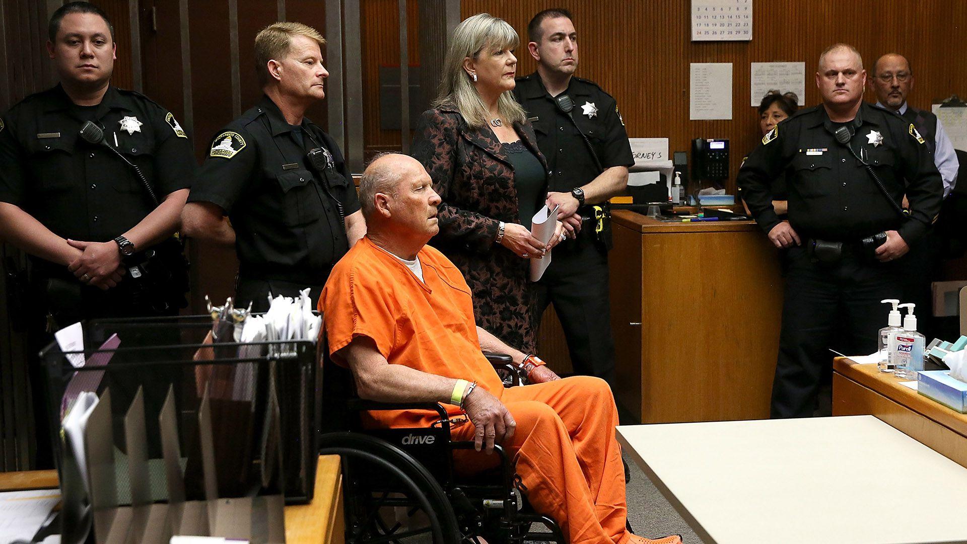 Joseph James DeAngelo es acusado de ser el asesino de Golden State  (Photo by Justin Sullivan/Getty Images)
