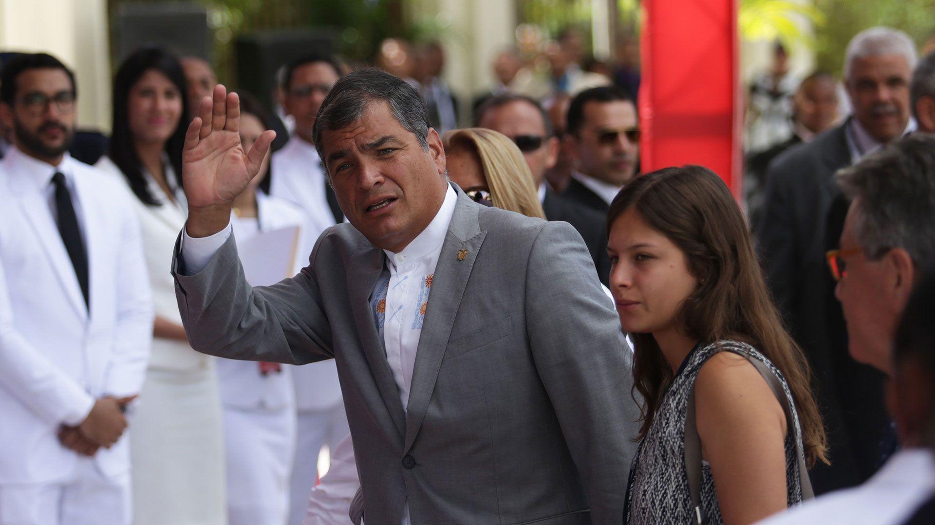 Rafael Correa, presidente de Ecuador entre 2007 y 2017 (EFE)