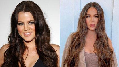 El antes y después de Khloé Kardashian