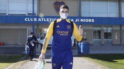 El plantel de Boca volverá a practicar en el Centro de Entrenamiento de Ezeiza (Foto: Javier Garcia Martino)