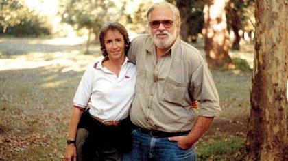 María Marta García Belsunce y Carlos Carrascosa