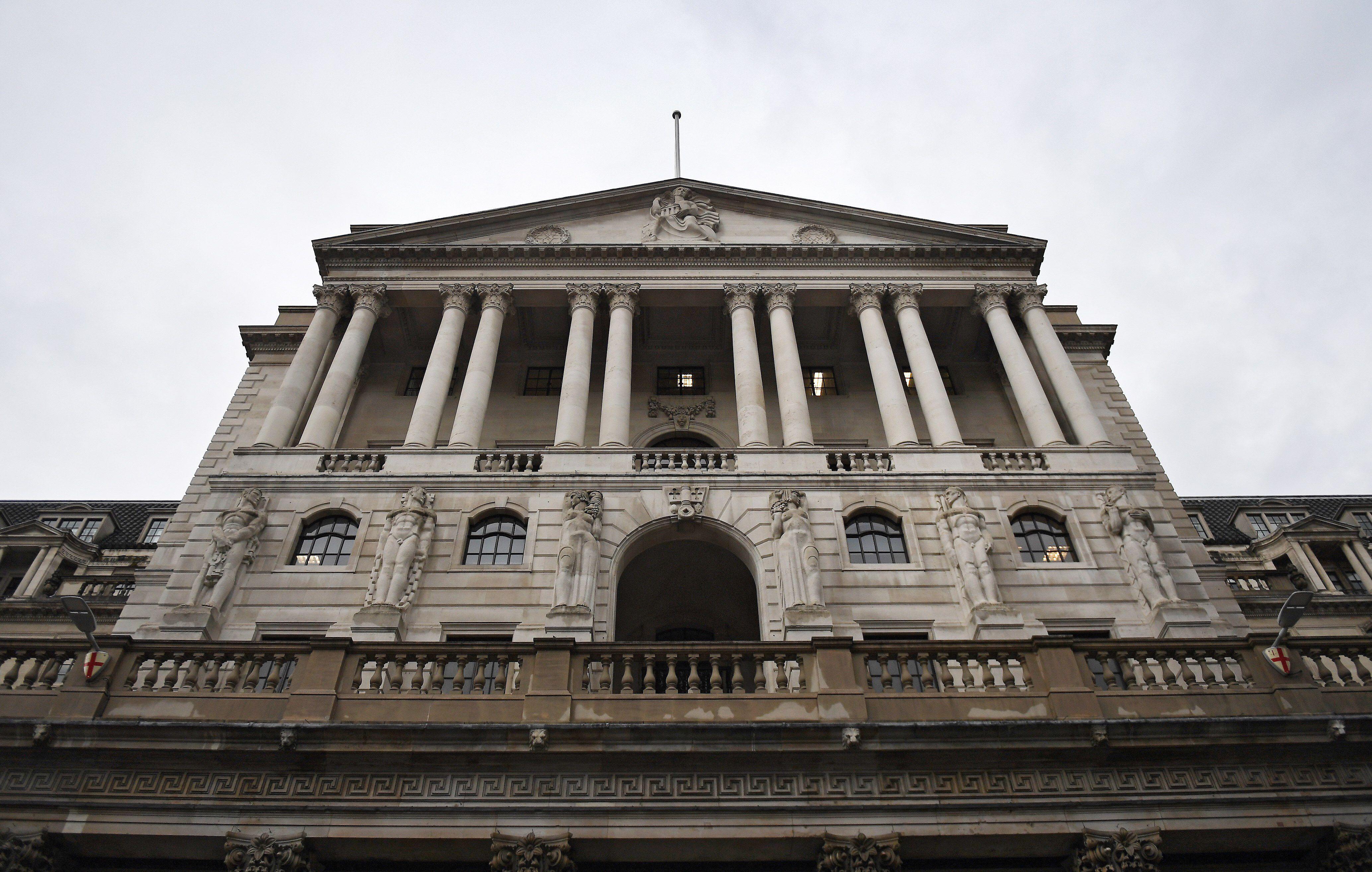 Fachada del Banco de Inglaterra en Londres (Reino Unido). EFE/Andy Rain/Archivo