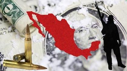 En el transcuros de la década, el narcotráfico ha consolidado su poder en México (Fotoarte: Steve Allen)