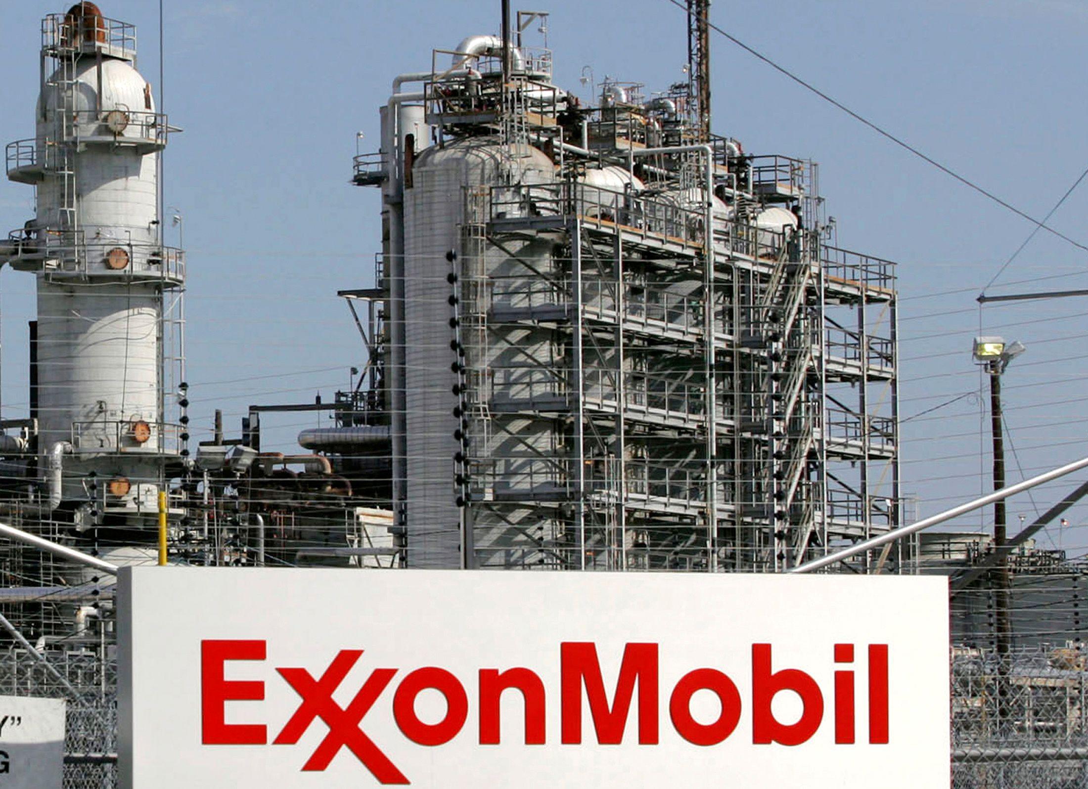 Una de las refinerías de Exxon Mobil en Baytown, Texas (Estados Unidos)