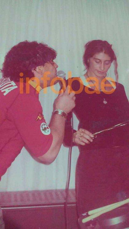 Maradona estaba obsesionado con Laura