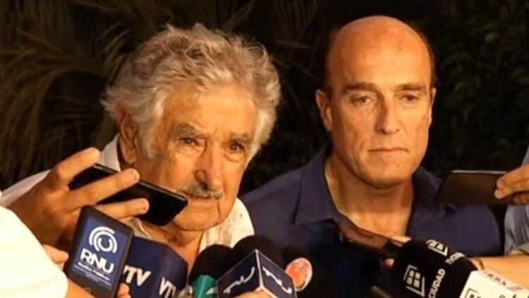 """José """"Pepe"""" Mujica y Daniel Martínez"""