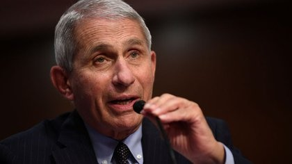 FOTO DE ARCHIVO- El doctor Anthony Fauci, director del Instituto Nacional de Alergia y Enfermedades Infecciosas de Estados Unidos, testifica ante el Congreso en Washington, 30 de junio del 2020. Kevin Dietsch/Pool via REUTERS