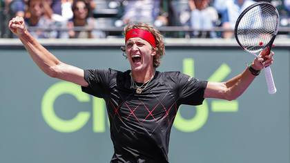 Alexander Zverev es el tenista más chico dentro del top 10 con 21 años