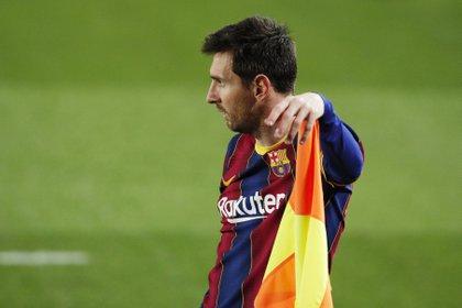 El futuro de Lionel Messi en el Barcelona no está definido (REUTERS/Albert Gea)