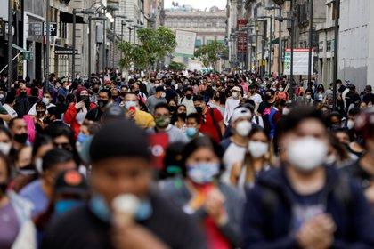 El Valle de México fue declarado en semáforo rojo desde la semana pasada. (Foto: Reuters)