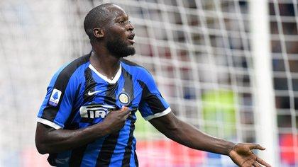 Lukaku se sumó al Inter para armar una delantera con Lautaro Martínez y buscar ganar la Serie A (Reuters)