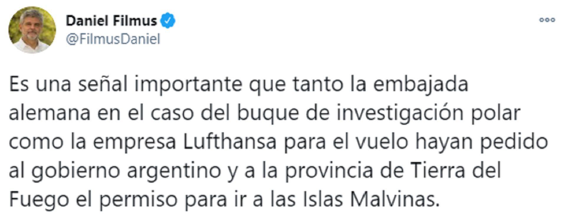 Filmus Malvinas