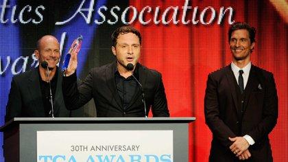 Nic Pizzolatto en los Premios de la Asociación de Críticos de Televisión en 2014 (Foto: Chris Pizzello/Invision/AP)