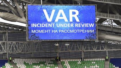 El VAR se probó en la Copa Confederaciones (AP)