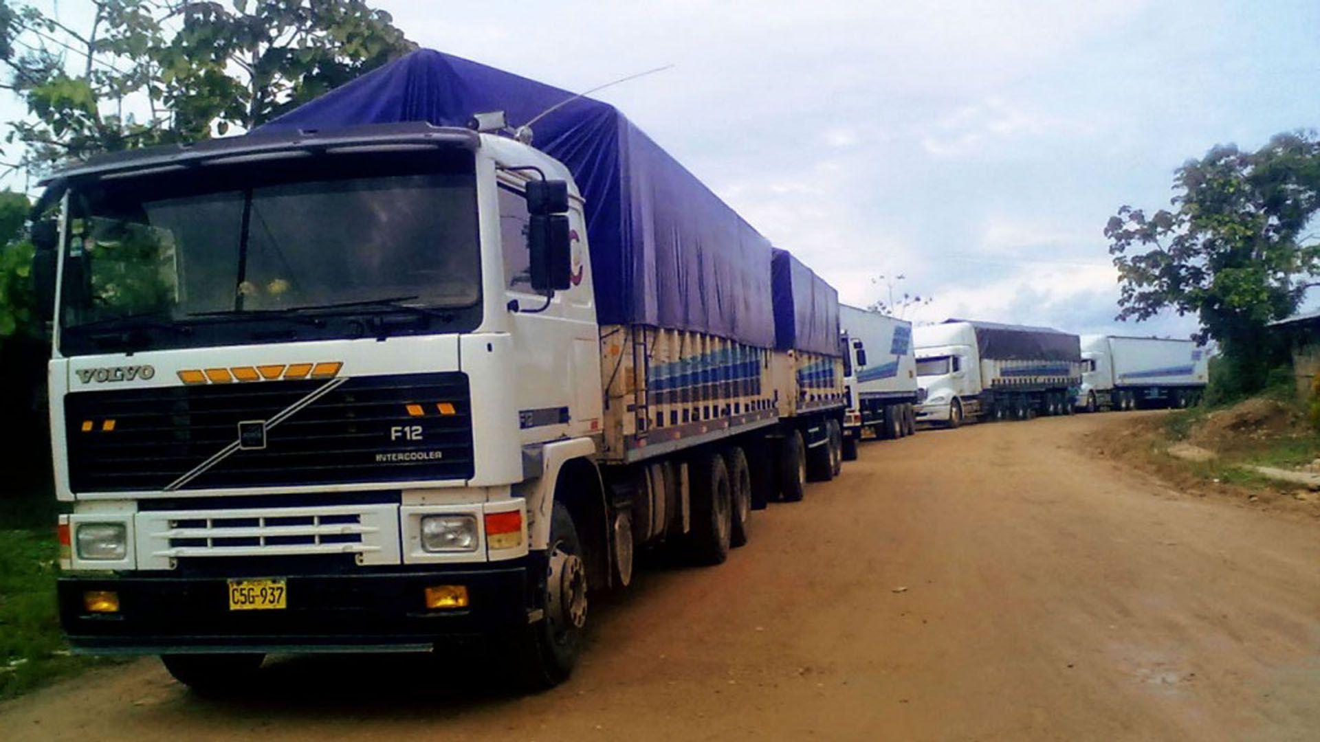 El transporte de carga fue la excepción: su utilización creció en abril.