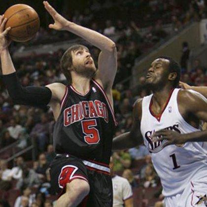 Andrés Nocioni estuvo cinco años en los Chicago Bulls (EFE)