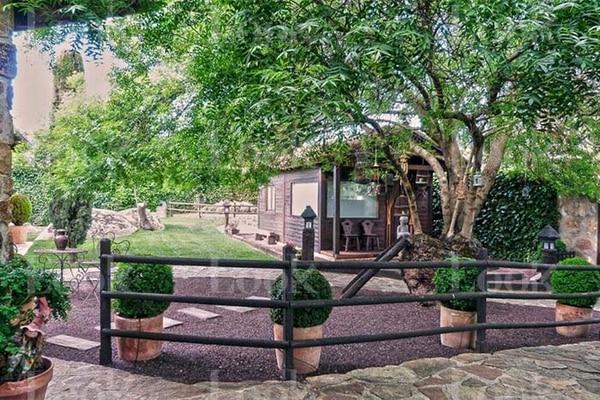 La casa cuenta también con un bungalow para los huéspedes