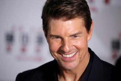 "Tom Cruise en la promoción del filme ""Mission: Impossible - Fallout"" en Pekín en 2018 (Reuters)"