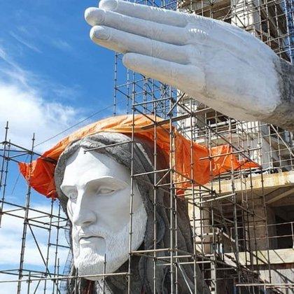 10/04/2021 Cristo Protector de Encantado, en Brasil POLITICA SUDAMÉRICA BRASIL AMIGOS DEL CRISTO DE ENCANTADO