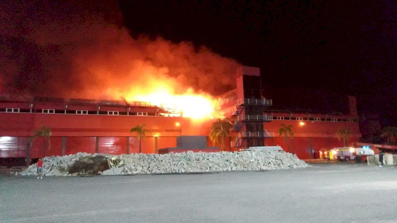 Incendio-Autódromo-Termas de Río Hondo