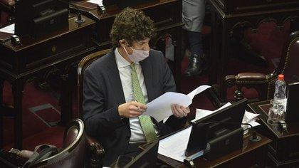 El senador Martín Lousteau, uno de los defensores del aborto legal (Gustavo Gavotti)