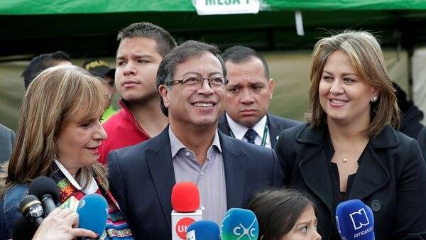 Gustavo Petro perdió por casi 12 puntos, pero aumentó su caudal electoral y llegará al Senado (Reuters)