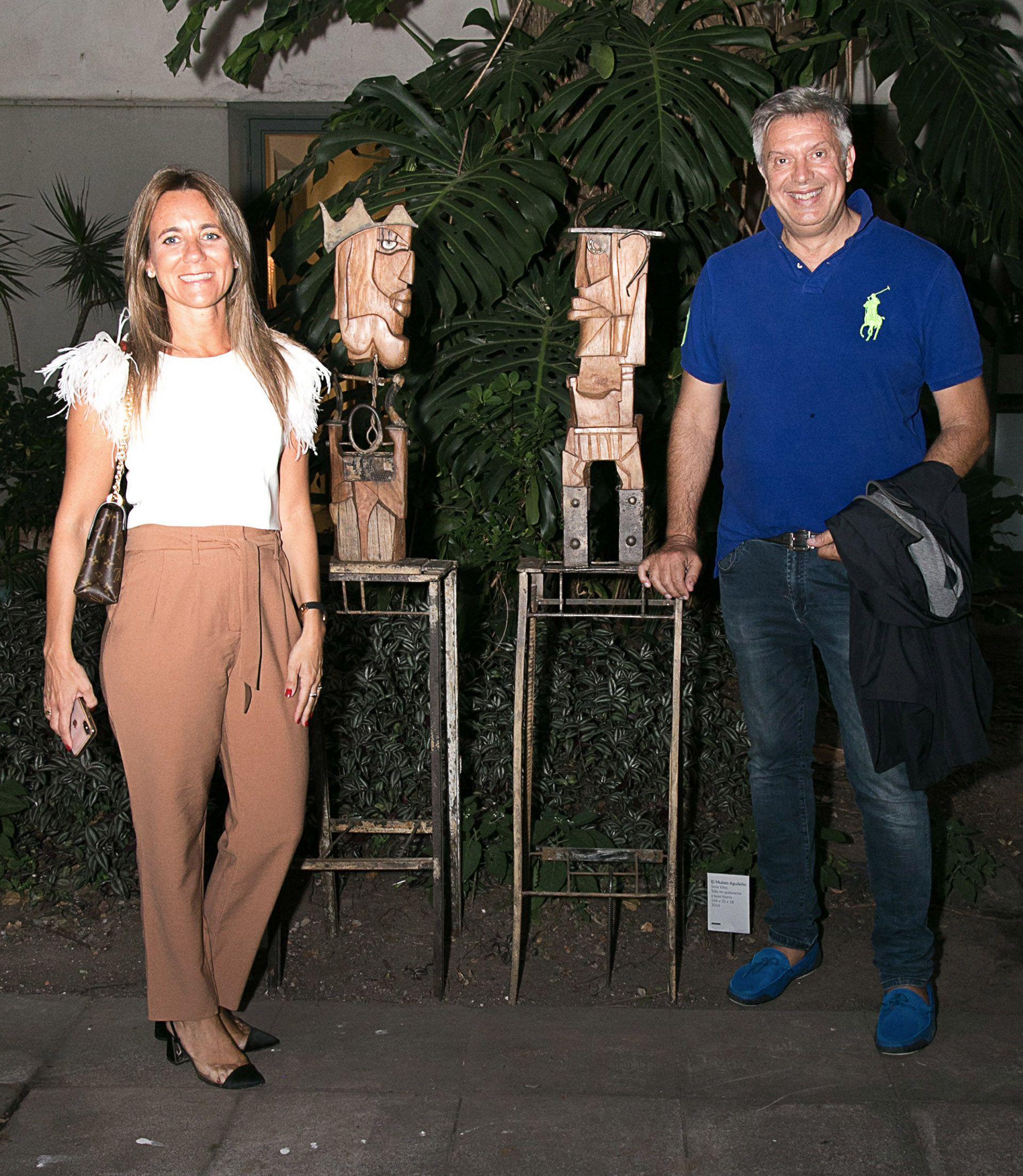 """Mariana Gallego y Mauricio D'Alessandro están """"separados en convivencia"""" tras el hisopado que le realizaron a la abogada, cuyo resultado fue positivo"""