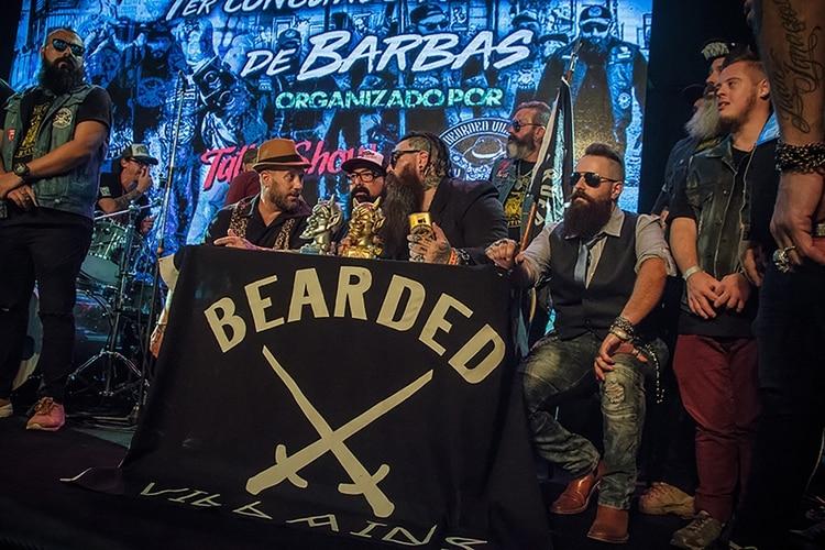 Concurso de Barbas.