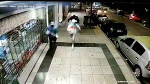 Los videos de la sangrienta persecución para detener a una banda de ladrones en Morón