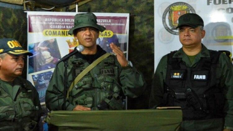 El general de brigada Héctor Armando Hernández Da Costa